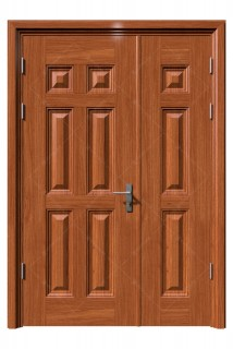 Cửa thép vân gỗ KG-21.04.04