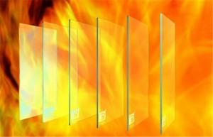 Kính cường lực 10mm chống cháy